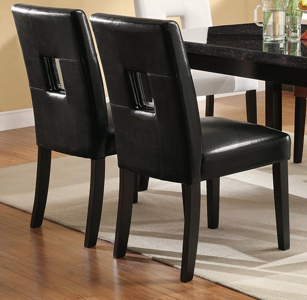Newbridge 7 Piece Dining Table And Chair Set (Black, Red