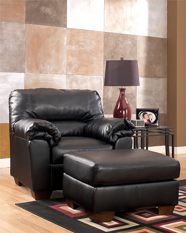 Commando black living room set marjen of chicago for Black living room sets cheap