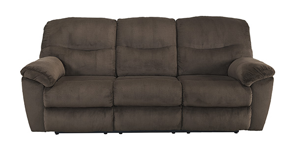 Slidell Chocolate Reclining Sofa Marjen Of Chicago