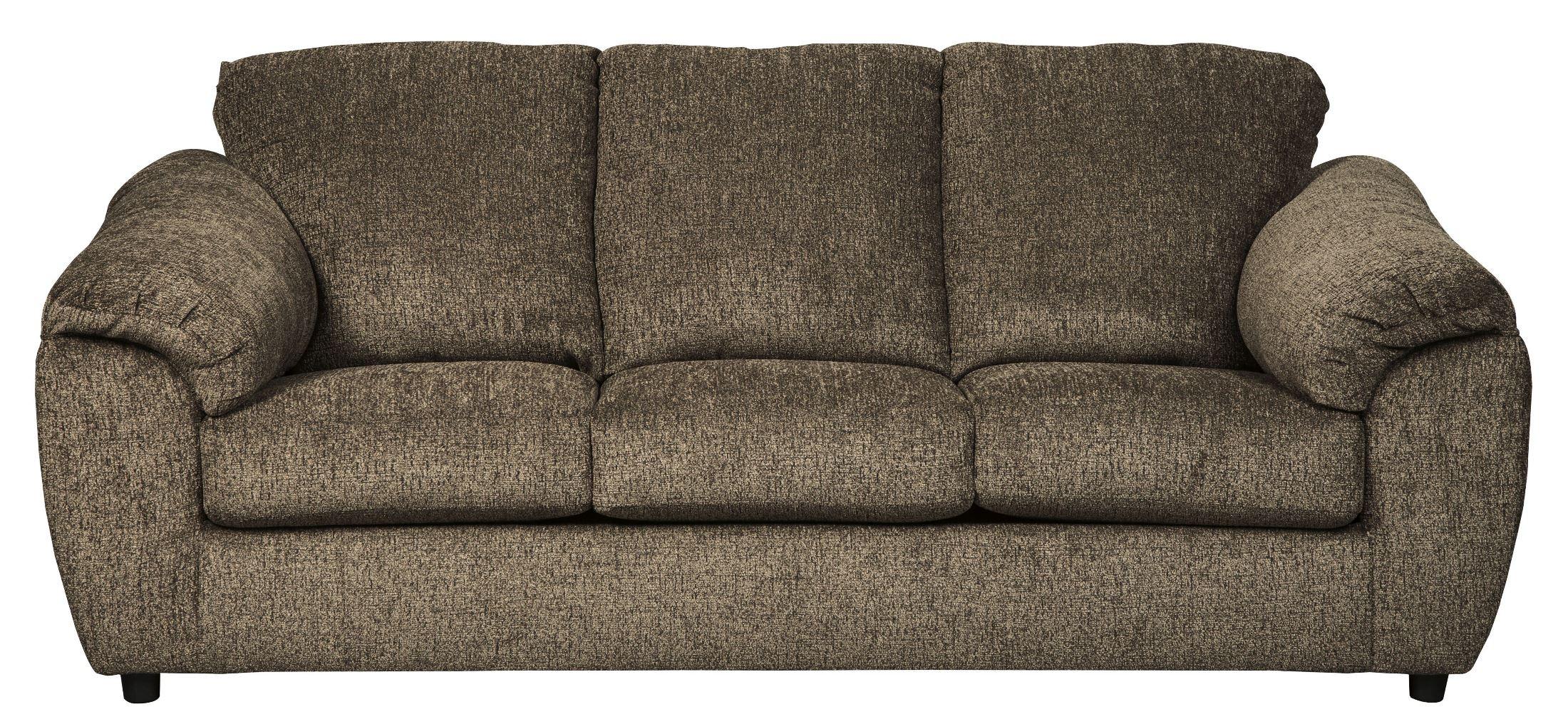 Azaline Umber Color 2 Piece Sofa And Loveseat Marjen Of