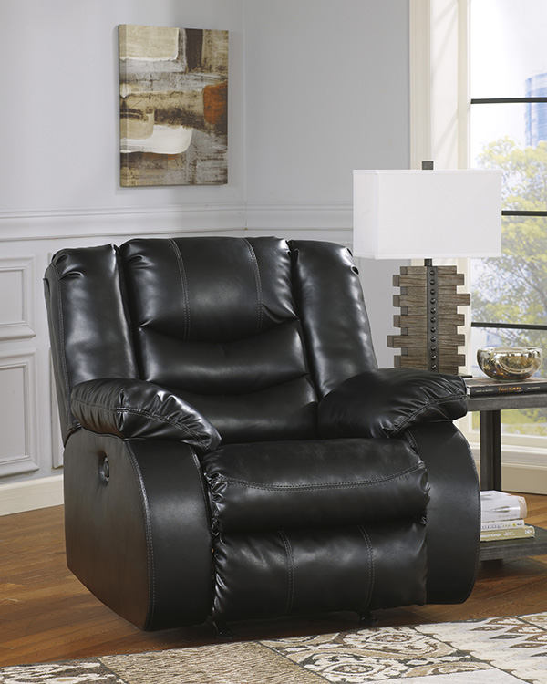 Black Reclining Sofa By Benchcraft