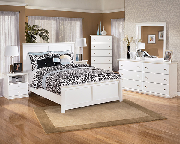 bostwick shoals solid white cottage style bedroom set 10659 | as b139 31 36 46 57 54 96 91 sd 0