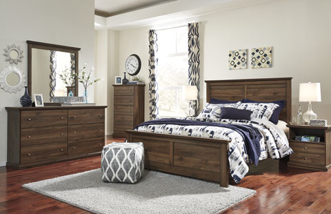 Burminson bedroom group by ashley signature design for Affordable furniture 290