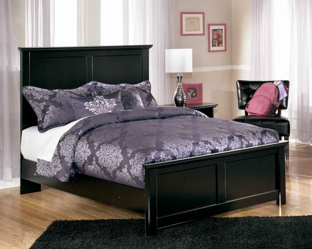 maribel black cottage style bedroom set marjen of