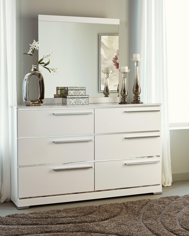 Brillaney White Bedroom Set Marjen Of Chicago Chicago Discount Furniture