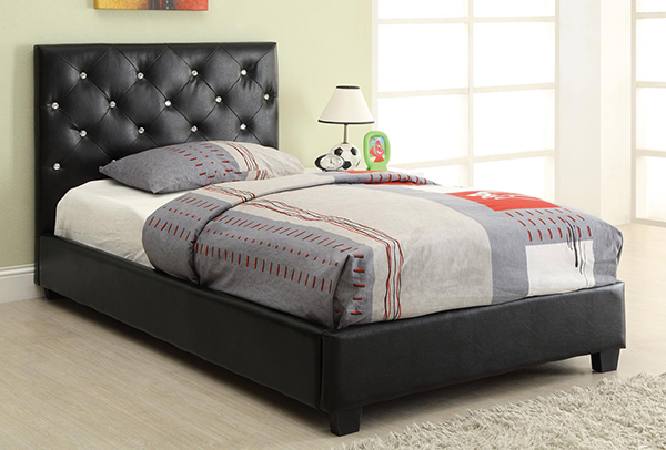 Regina Upholstered Twin Bed With Button Tufting Marjen