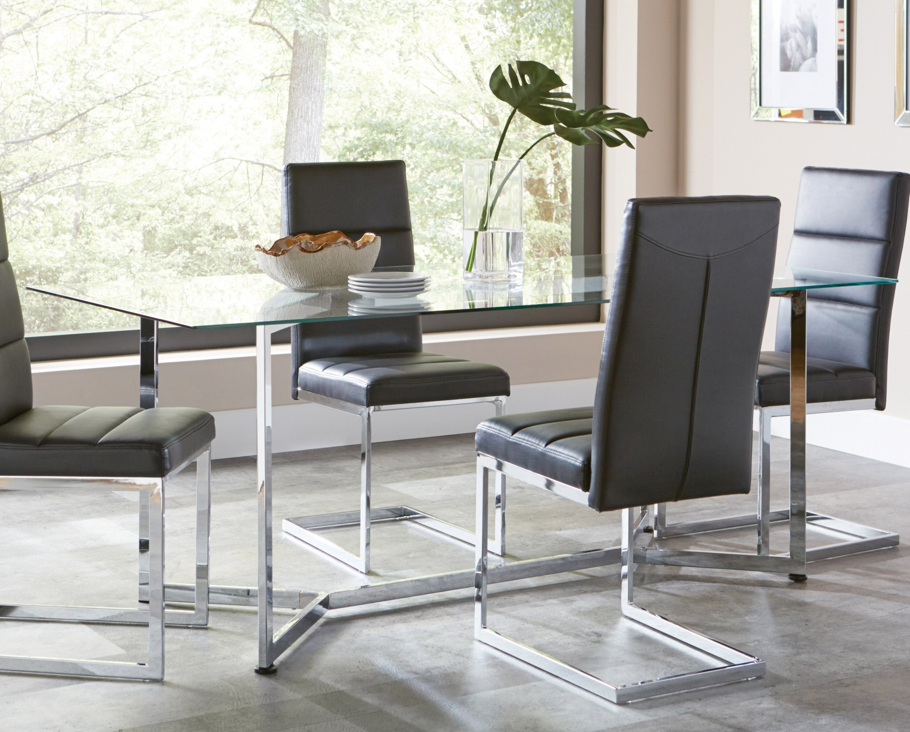 rectangular sets glass tables top small and square dining table chairs room