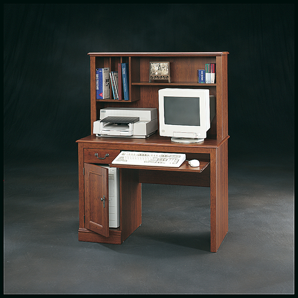 Camden County Collection Computer Desk With Hutch Marjen